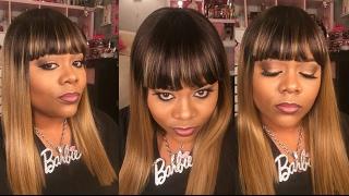 Zury Sis Slay-H MINAJ SOM RT TAN BLONDE wig review | Annette Walker