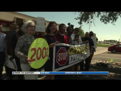'Stop predatory lending' supporters rally in Colorado Springs