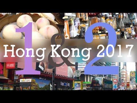 Travel Vlog: Hong Kong 2017 #1&2 Groceries + Shopping!