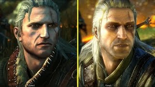 The Witcher 2 E3 2010 Demo vs Retail PC Graphics Comparison