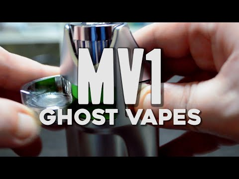 Ghost Vapes MV1 Dry Herb Concentrate Vaporizer Review Canada  – Beegreen91
