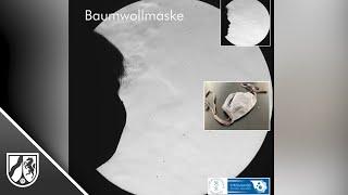 Video der TU Freiberg zur Wirkung von Atemschutzmasken