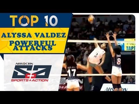 Top 10: Alyssa Valdez Powerful Attacks