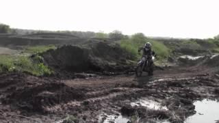 klx110 pitbike track