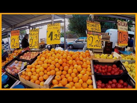 LET'S GO TO THE MARKET: FRUITS AND VEGETABLES IN NICE - FRANCE