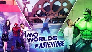 IMG Worlds  NAJWIĘKSZY na świecie park rozrywki !