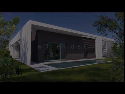EC-HOUSE , Salento (Italy) ,  nearly Zero Energy Building-Passive House, Bart Conterio architect
