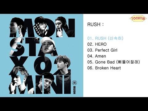 [Full Album] MONSTA X (몬스타엑스) - RUSH [2nd Mini Album]