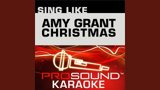 Grown Up Christmas List (Karaoke Lead Vocal Demo) (In the Style of Amy Grant)