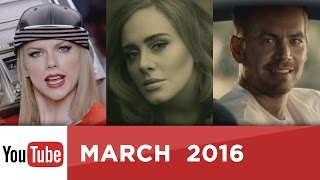 Top 10 Most Viewed YouTube Videos Of All Time - March 2016