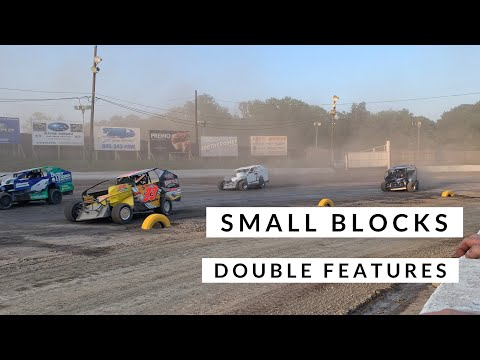 Two Small Block Features at Orange County Fair Speedway