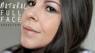 Natural Full Face Drugstore Makeup Tutorial & Affordable Brushes