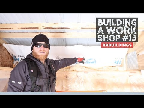 Building a Work Shop: Attic Ventilation Details, Base Trim Installs, and Completing Interior Framing