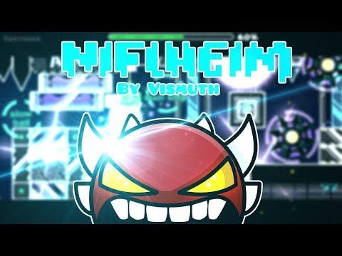 Geometry Dash Niflheim by Vismuth 100% (Extreme Demon)