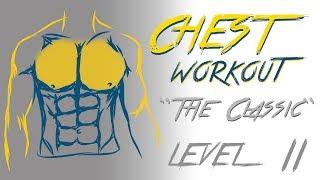 Базовая тренировка для грудных мышц - Уровень 2 - Music(Данная базовая тренировка для грудных мышц является легкой и подходит всем (мужчинам и женщинам), так как..., 2013-12-01T20:00:01.000Z)
