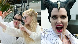 Maleficent: Mistress of Evil Bloopers,B-roll & Behind The Scenes   Angelina Jolie