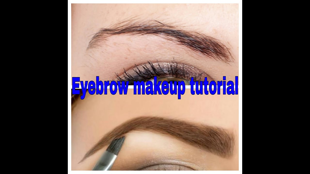 In 1 Min Get The Perfect Eyebrows In 3 Simple Steps Eyebrow Makeup