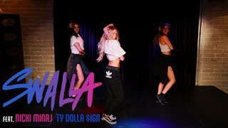 "Video Jason Derulo - ""Swalla"" Feat. Nicki Minaj and Ty Dolla $ign (Dance tutorial) 