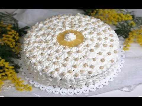 TORTA MIMOSA - Italian Mimosa Cake Recipe