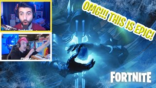 Streamers React to New Winter King Event! - Fortnite Clips & Highlights