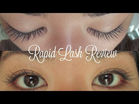 Rapid Lash Review and Results