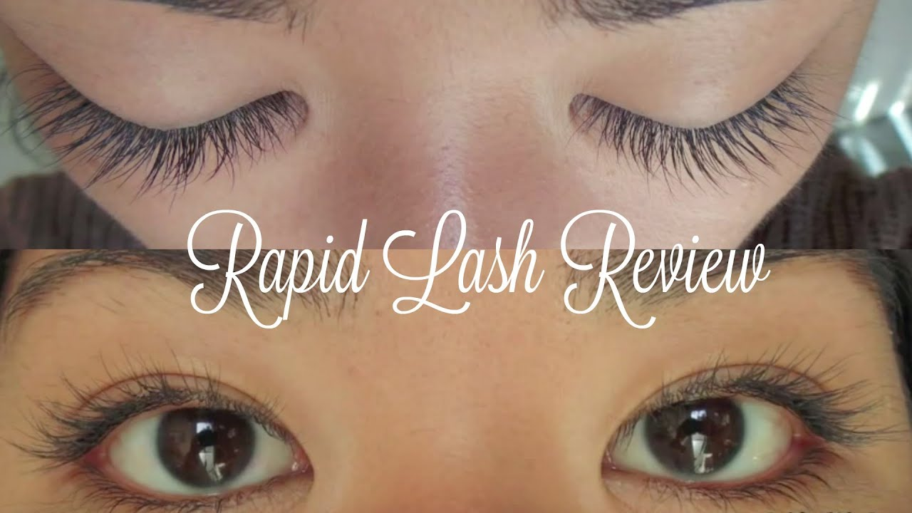 Rapid Lash Review And Results Youtube