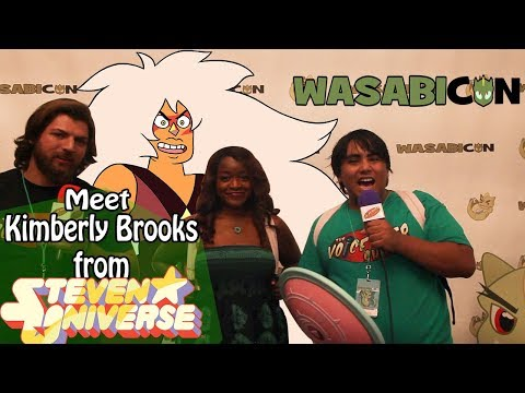 The Voice Over  invades Wasabi Con!  Meet Kimberly Brooks, Voice of Steven Universe's Jasper!