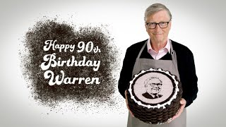 Happy 90th Birthday, Warren Buffett!