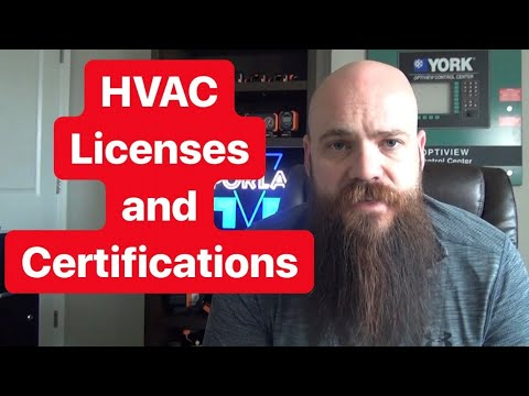 HVAC Licenses And Certifications: Which Ones Do You Need?