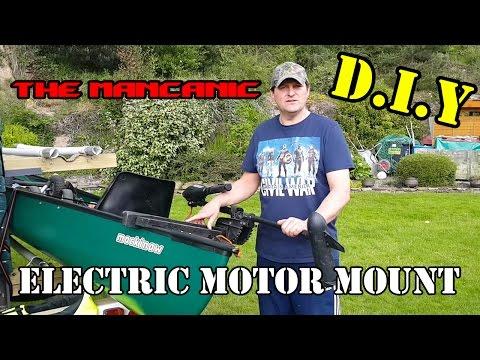 D.I.Y CANOE MOTOR MOUNT EXPLAINED