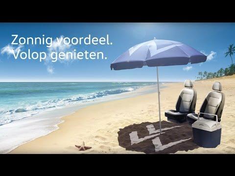 Volkswagen zomercheck narrowcasting