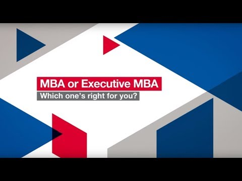 MBA or Executive MBA - Which one's right for you? | London Business School