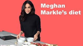 Meghan Markle's diet. What Meghan Markle eats in a day?
