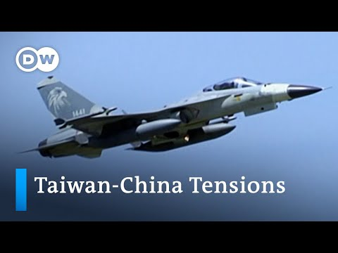 Taiwan warns China to 'back off' after military planes enter Taiwan's air defence zone | DW News