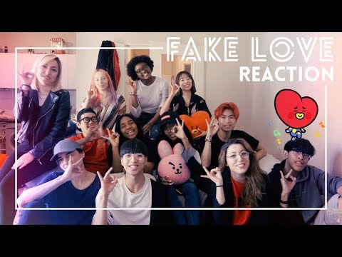 [REACTION VIDEO] BTS (방탄소년단) - 'FAKE LOVE' M/V by RISIN'CREW from France