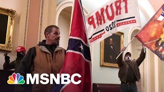 Man Who Broke Into Capitol With Confederate Flag Appears In Court  MSNBC