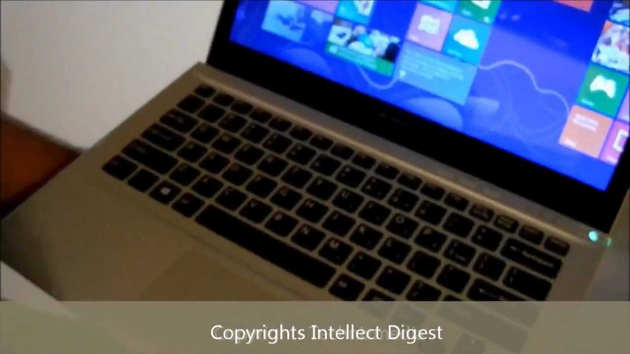 Sony vaio t13 ultrabook review the register - Sony Vaio T13 Ultrabook Review Windows 8 Touch Screen
