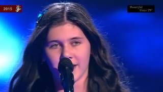 sabina run to you the voice kids 2015