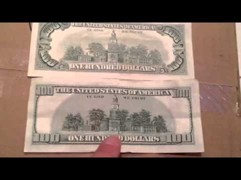 United States Money Old Vs New Dollar Bill YouTube - How old is united states