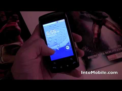 LG Ally Android phone hands-on demo