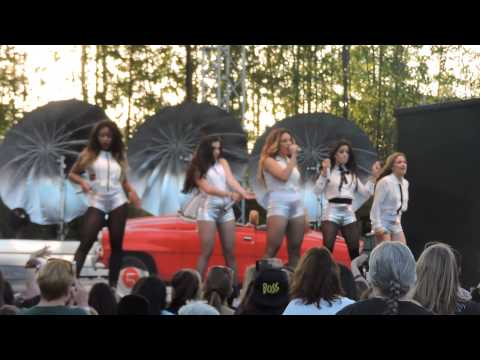 Top Down -Fifth Harmony #ReflectionTour @ Busch Gardens Tampa