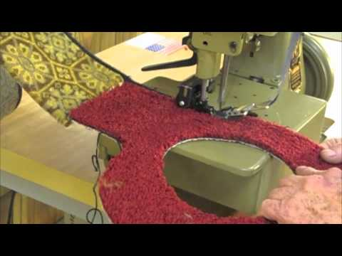Carpet Serger Overlock Sewing Machine 81200air Rfw B Youtube