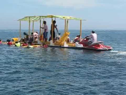 澎湖吉貝嶼--動力浮潛 - YouTube