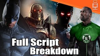 Ben Affleck's CANCELLED Justice League Film Full Story Details Breakdown