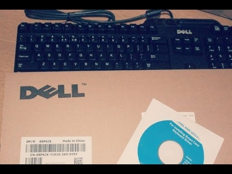 Dell Keyboard USB With Smart Card Reader - Unboxing [HD]
