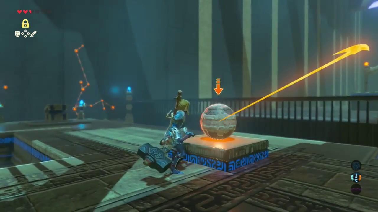 Zelda Breath Of The Wild Mirro Shaz Shrine All Chests Youtube