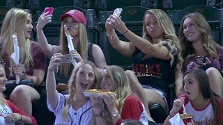 Why You Should Support the Baseball Selfie Girls