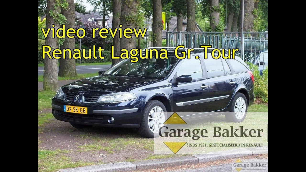 video review renault laguna grand tour 2 0 16v tech line 2006 02 sk gb youtube. Black Bedroom Furniture Sets. Home Design Ideas