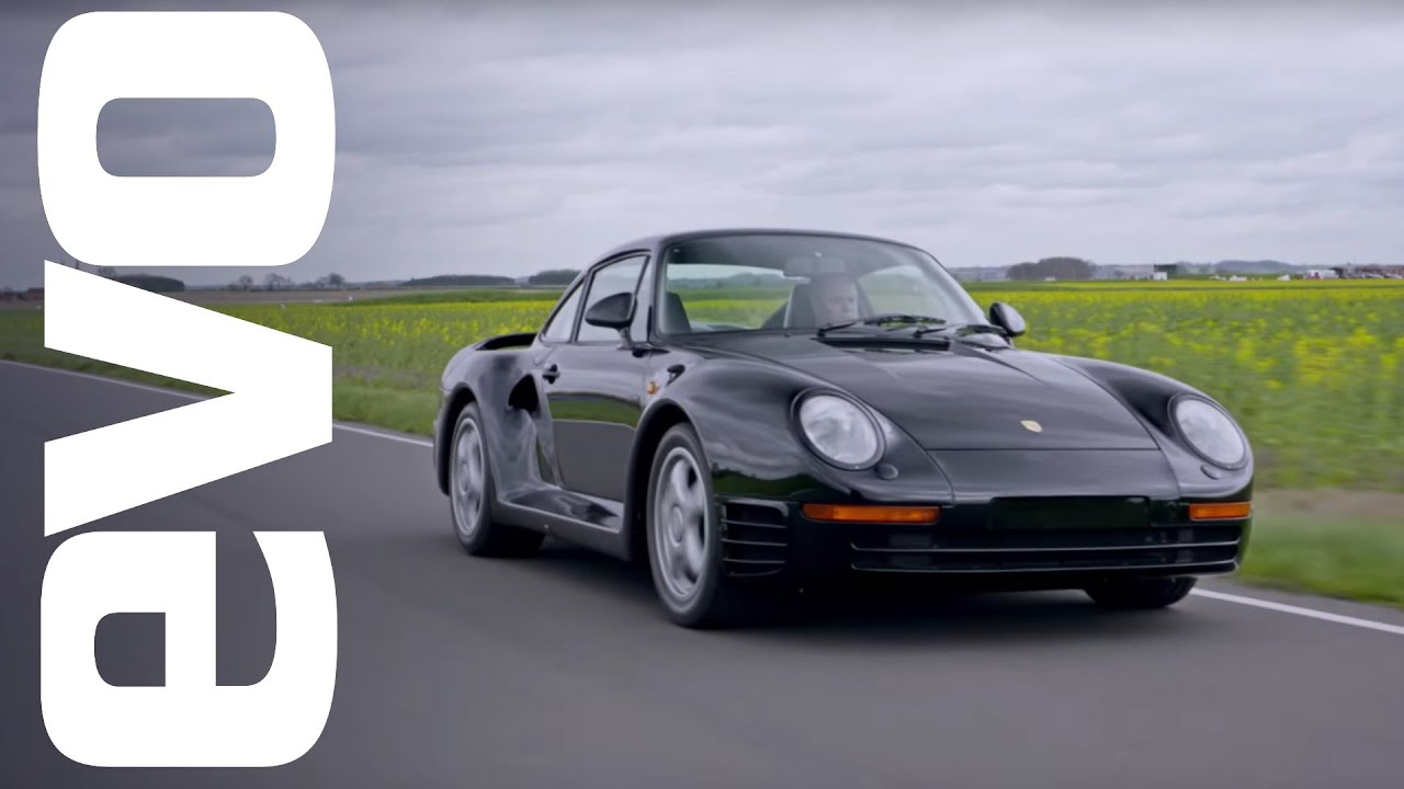 Porsche 959 driven | evo ICONS - YouTube