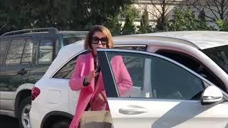 Neda Ukraden i njen zet, Predrag dolaze da izjave saučešće Šaulićima - 18.02.2019.